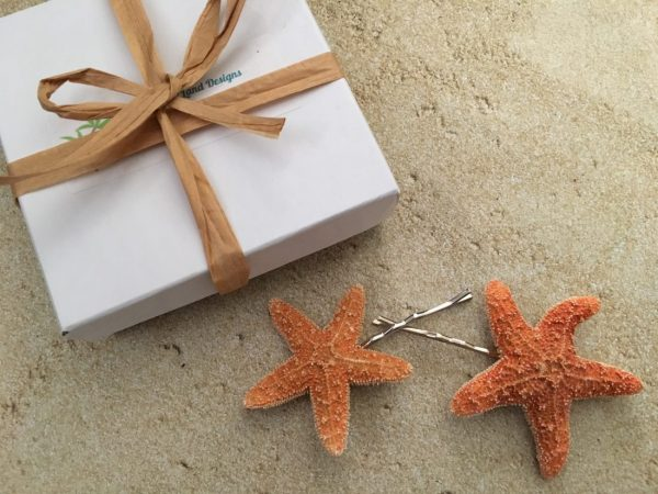 Sugar Starfish Bobby Pins Set