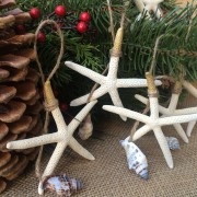 Starfish Ornaments, Gold Tip2