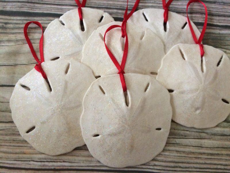 Sand dollar ornament -  Sand Dollar Ornament Set Previous