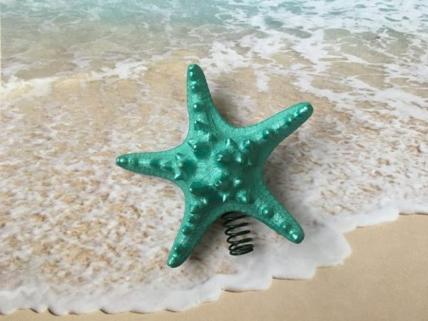 Knobby Starfish Christmas Tree Topper