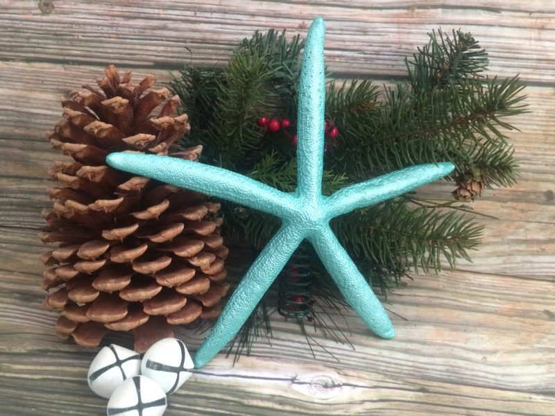 Turquoise Starfish Tree topper 1
