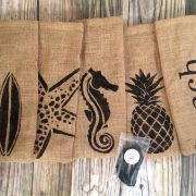 Beach Wine Bag Set