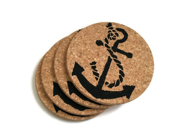 Anchor_Cork_coasters