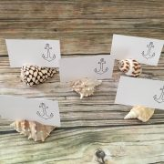 Seashell Placement Card Holders
