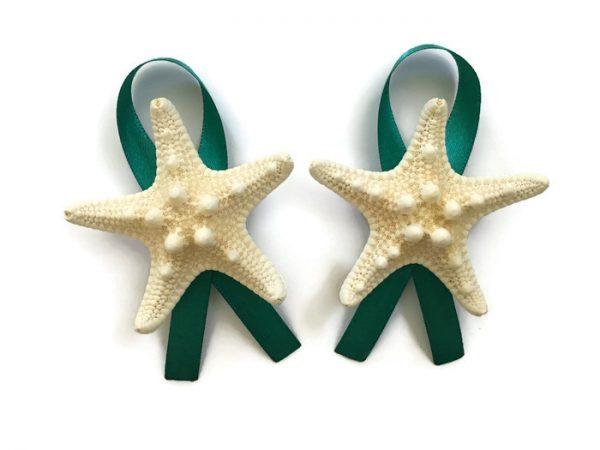 Knobby Starfish boutonnieres 2