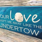 Love Beach Sign 5