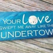 Love Beach Sign 6