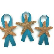 Sugar Starfish Boutonniere with Ribbon 3