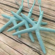 Mint Starfish Ornaments 1