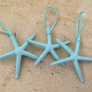 Mint Starfish Ornaments 3