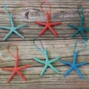 Tropical Starfish Ornaments 1
