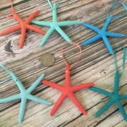 Tropical Starfish Ornaments