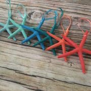 Tropical Starfish Ornaments 2