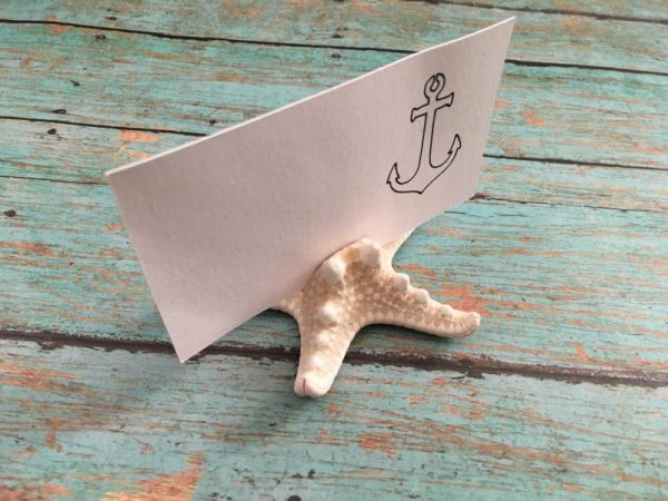 Starfish Place Card Holder