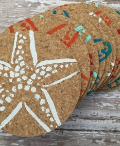 Colorful Starfish Coasters