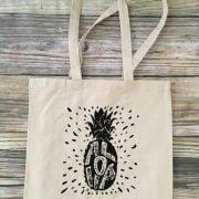 Pineapple Aloha Tote Bag 3