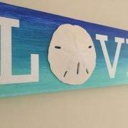 Coastal Love Sign 3