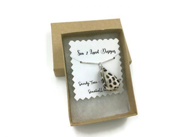 Hebrew Cone Seashell Necklace 1