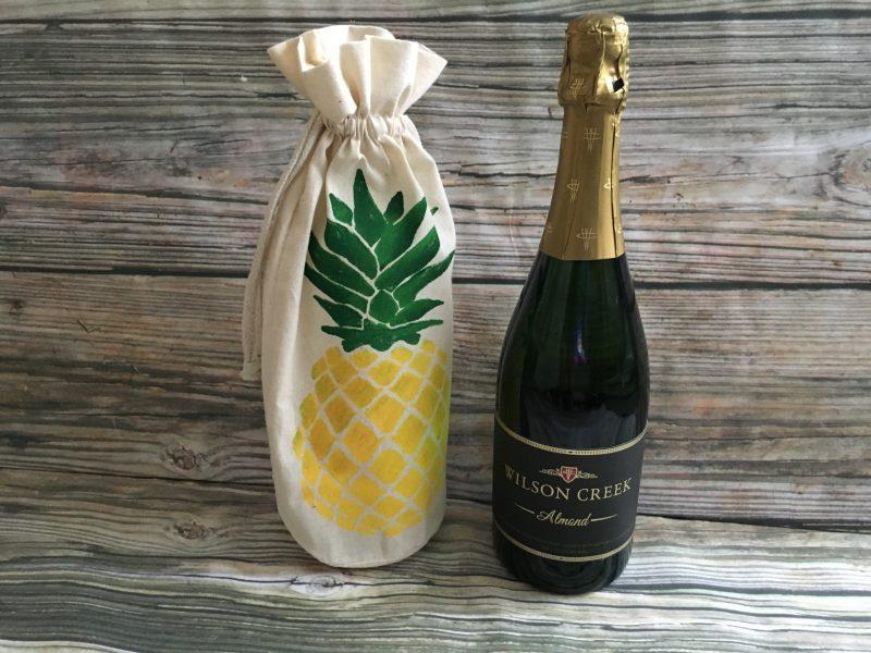 bulk pineapple muslin wine and beer gift bags 5 sea 2 land designs