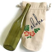 hawaiian aloha wine gift bag (2)