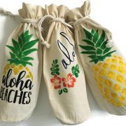 Aloha Pineapple Wine gift set