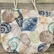 Nautical seashell rope bag 2