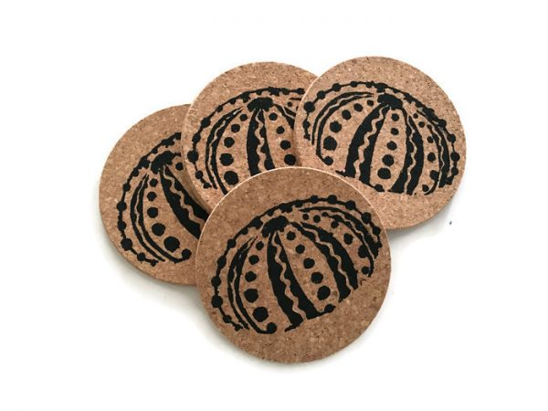 Sea Urchin Coaster Set
