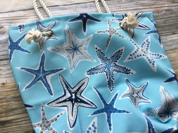Starfish rope bag