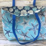 starfish and sand dollar tote 9