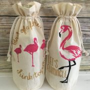 Let's Flamingle Flaimngo Wine Gift Set