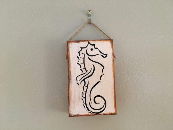 Sea horse mini sign 1