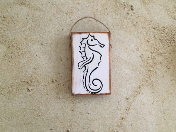 Sea horse mini sign 4
