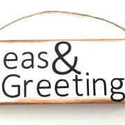 Seas & Greetings Christmas Sign Ornament 6