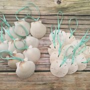 Seashell and Sand Dollar Ornaments