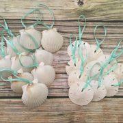 Seashell and Sand Dollar Ornaments