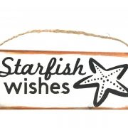 Starfish Wishes Beach Ornament 5