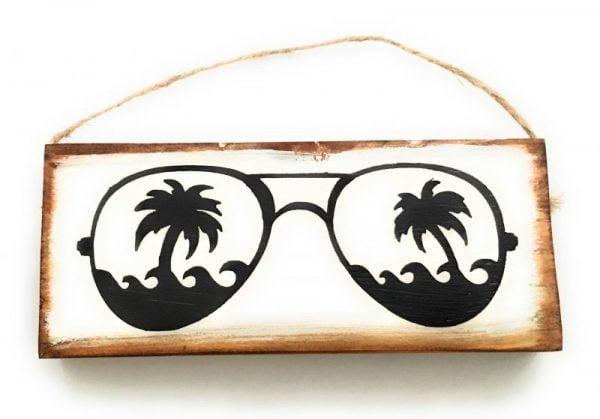 Sunglasses Wood Hanging 7
