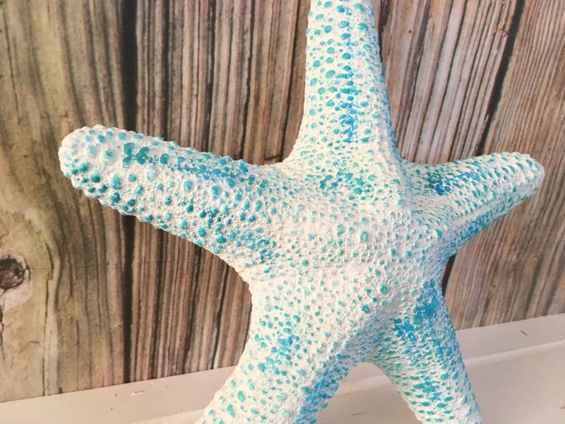 Tropical Large White Starfish Wall Hanging