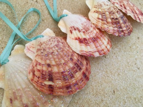 Tropical shell ornaments 9