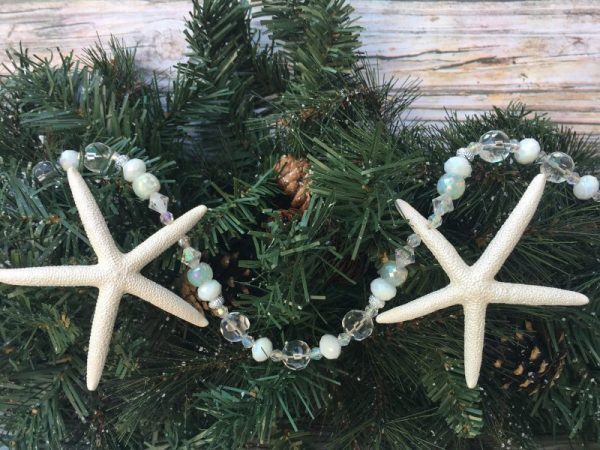 beaded starfish garland 3
