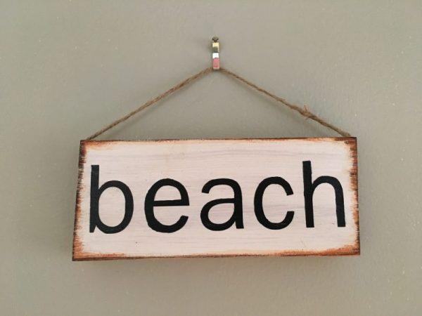 mini beach sign 2