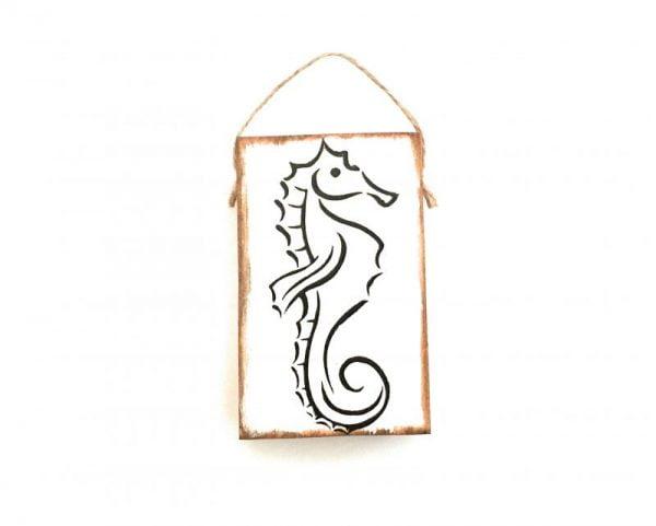 sea horse mini sign 6