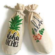 Aloha Wine Bag Set