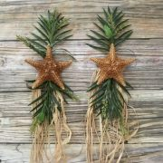 Caribbean Starfish Wedding Arch Tie Backs