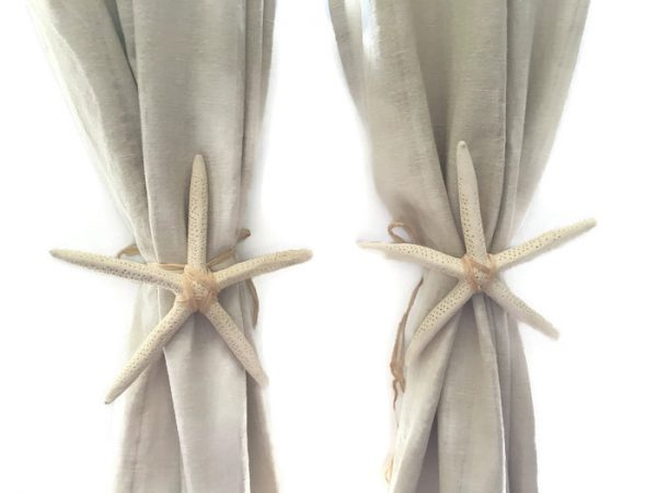 Finger Starfish Wedding Arch Tie Backs