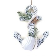 Nautical Anchor Christmas Decoration