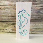 Tropical Sea Horse Beach Wall Decor 2