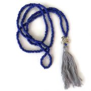 Blue Turtle Mala Necklace