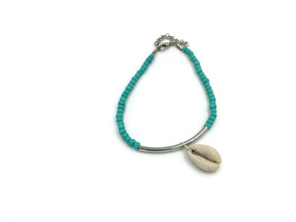 Cowrie Seashell Anklet