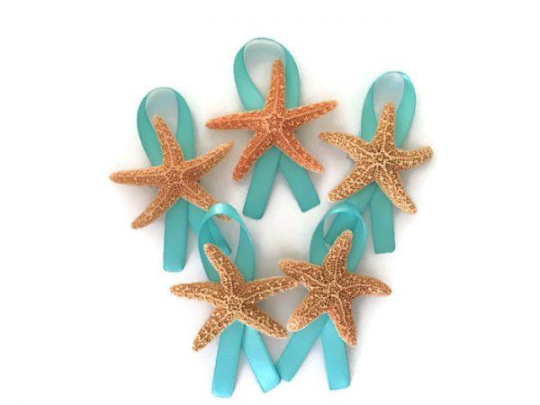 Sugar Starfish Boutonnieres 5